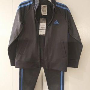 Boy's 3t sweatsuit by adidas NWT